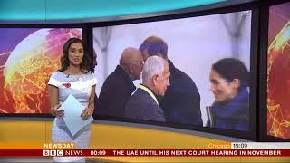 Babita Sharma and Sharanjit Leyl BBC News Channel HD World News Newsday October 30th 2018