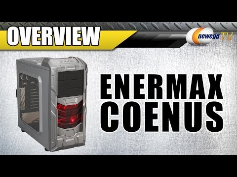 ENERMAX COENUS GUNMETAL GREY ATX MID TOWER COMPUTER CASE Overview - Newegg TV