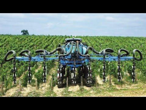 BERTHOUD SPEED'AIR SUP'AIR COMPACT pour tracteurs enjambeurs plateau - Cellule de pulvérisation - FR
