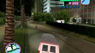 GTA Vice City walkthrough part 5 (without cheats) with commentary