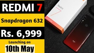 Redmi 7 Price & Launch date in India | Camera, Specification| Redmi 7,Redmi Y3 & Redmi 7 Coming soon