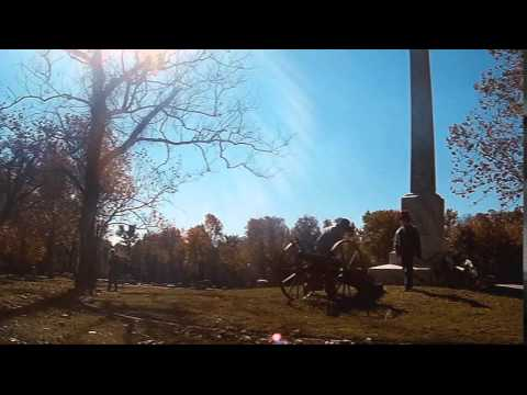 Cannon Salute Confederate Monument November 8. 2014