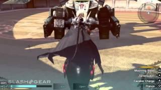 Final Fantasy Type-0 HD gameplay: Odin gameplay
