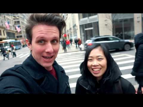 Chinese Girls First Time Reaction to NYC