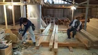 豊川市の堀田建築職人‼刻み‼