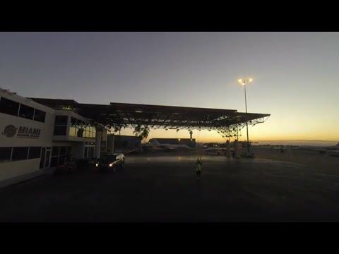 Gulfstream 5 time lapse. Fort Lauderdale Hollywood Intl - Opa Locka sunset flight.