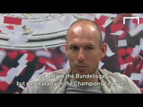 Full interview with Bayern's Arjen Robben