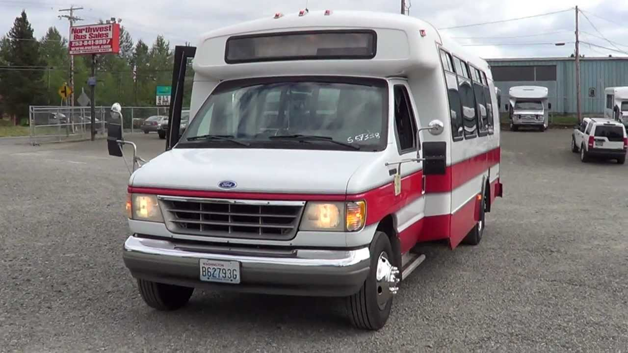 Passenger Van For Sale >> Northwest Bus Sales - 1992 Ford Champion 23 Passenger ...