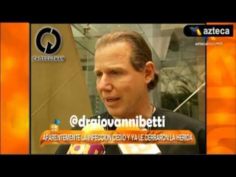 Dr. Giovanni Betti informa sobre la operacion de Alejandra Guzman