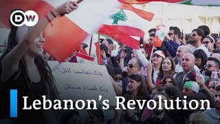 Protests in Lebanon: Christina has had enough | DW Documentary (Arab world documentary)