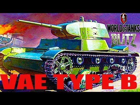 WoT Blitz обзор танк VAE Type B китайский танк новичкам китайская ветка World of Tanks Blitz#74