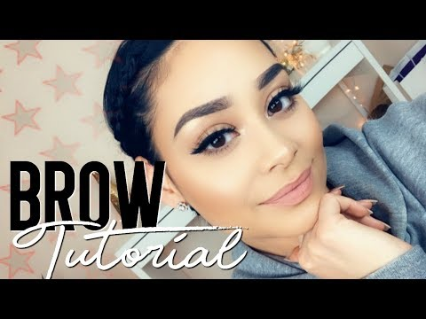 HOW I FILL IN MY BROWS | BROW TUTORIAL 2018