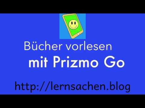 Bücher vorlesen mit Prizmo Go