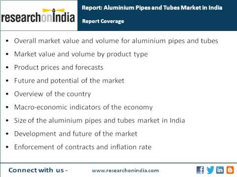 India Market Research Report : Aluminium pipes and tubes market in india