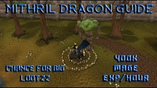 RS - 400k+ exp/hour at EOC Mithril Dragons
