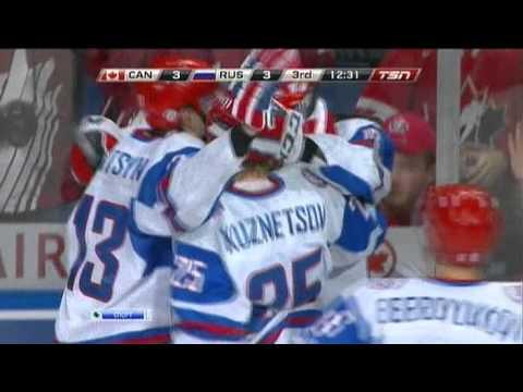 Гол В.Тарасенко в ворота сборной Канады  Финал МЧМ.avi