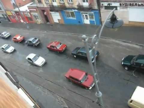 Злива Чернівці 27.07.2012