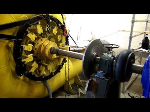140 Kw Francis turbine testing-HD