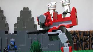 Lego Star Wars The 2nd Battle of Uvena Prime