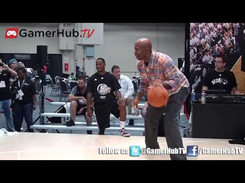 TNT Basketball Analyst Kenny Smith Hoops It Up With Majesco NBA Baller Beats