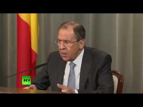 Conférence de presse conjointe de Sergueï Lavrov et Didier Reynders