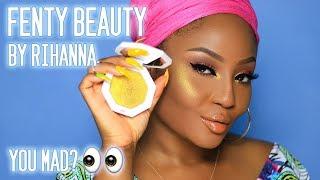 Fenty Beauty by Rihanna is NOT for white people? #GirlBye