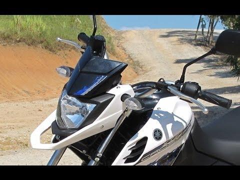 2014 Yamaha XTZ 150 Crosser Teste de Rua