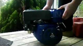 New? 6 5 HP Honda blue clone engine by Lifan from Harbor Freight Tools