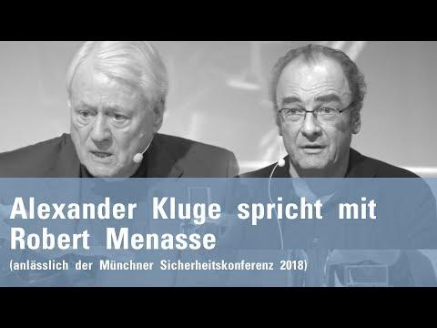 Alexander Kluge spricht mit Robert Menasse über die EU