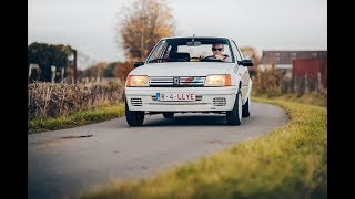 Peugeot 205 Rallye with Group N Exhaust Sound