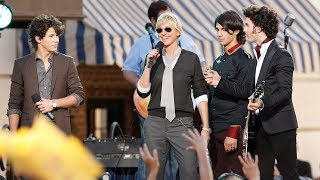 A Look Back at the Jonas Brothers' Visits to Ellen