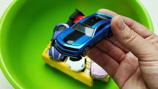 Learn Colors for Children with Hot Wheels Cars / Educational Video for Toddlers with Color Car Toys