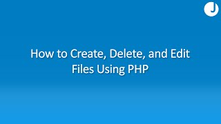 How to Manipulate Files Using PHP