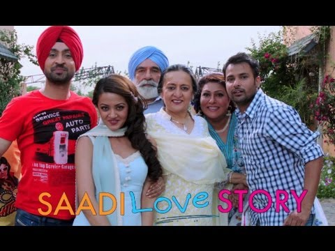 Saadi Love Story (Exclusive Theatrical Trailer) | Surveen Chawla & Amrinder Gill