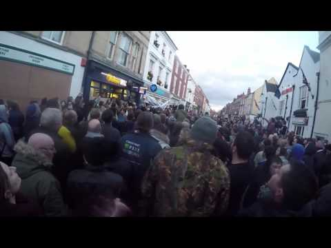 Atherstone Ball Game + Marc Albrighton Leicester FC Player