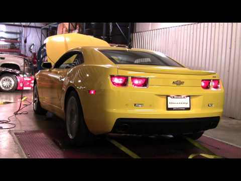 Edelbrock Supercharger Dyno Test on 2010 Camaro SS