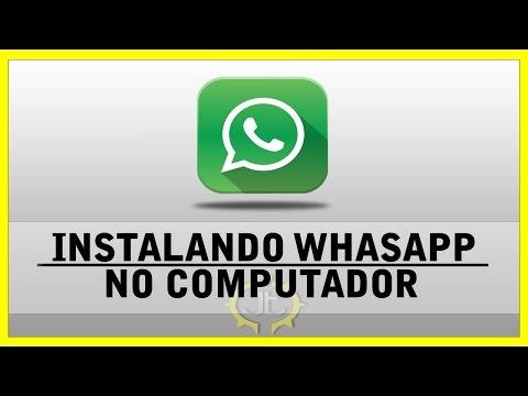 Tutorial - Como Baixar instalar Whatsapp no computador usando Andy 2015