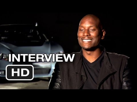 Fast & Furious 6 Interview - Tyrese Gibson (2013) - Dwayne Johnson Movie HD