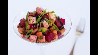 Tofu Beet Poke with Chef Marc Anthony Freiberg