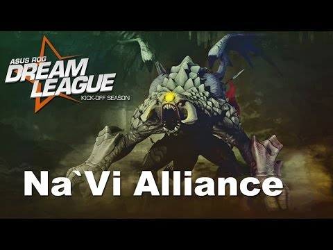 Na`Vi vs Alliance Final Game 3 Dreamhack Winter 2013 Dota 2
