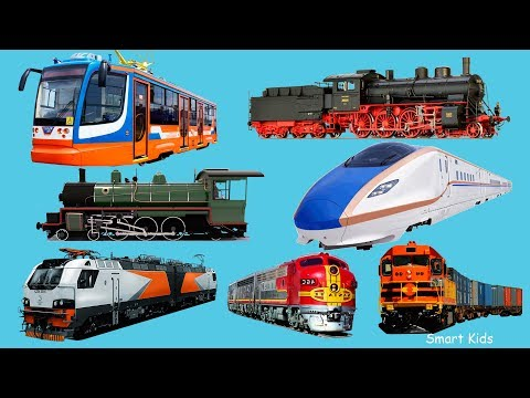 Transport Train for kids | Learn names and Sounds of Transport | Learn Transport in english for Kids