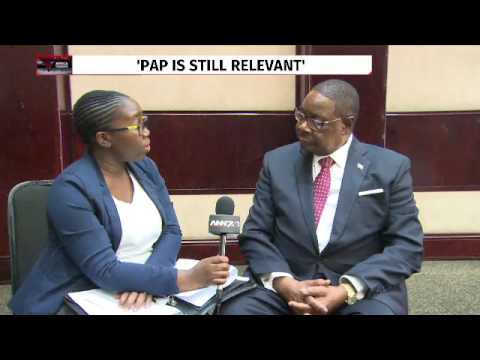 Malawi President Peter Mutharika speaks on Pan African Parliament