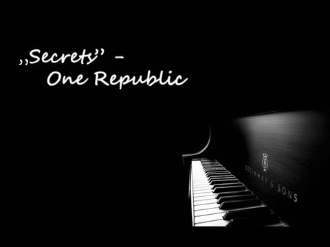 Secrets by One Republic - Piano Cover w Piano Music Sheet available...