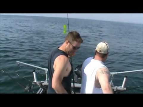 Lake Michigan King Salmon Fishing - Just in time for brunch