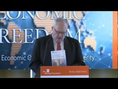 The Heritage Foundation's 2013 Index of Economic Freedom