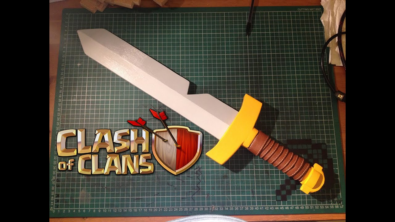 Swords Clashing Drawing How to Create a Clash of Clans