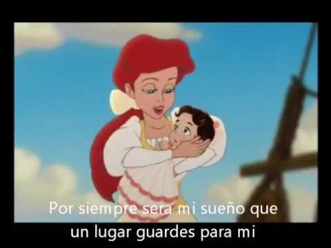 La sirenita 2 - Rumbo al mar - Con letra (Español latino)