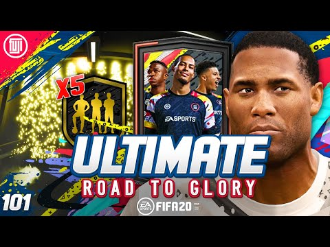TOTW UPGRADE PACKS!!!!! ULTIMATE RTG #101 - FIFA 20 Ultimate Team Road to Glory