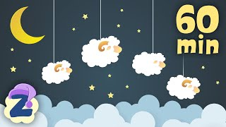 🐑🌙1 Hour of Dreamy Baby Lullabies and Relaxing Melodies for a Restful Sleep 💤by #ZouzouniaTV