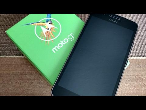 Moto G5 Unboxing In Deutsch/German